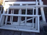 UPVC Double Doors and Windows from Conservatory