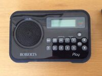 Roberts Play Digital DAB/FM RDS radio with mains adaptor