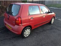 Bargain excellent alto.full year mot.full year road tax.service.only £790