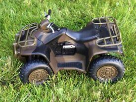 HM Armed Forces toy quad bike