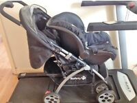 SAFETY FIRST PUSHCHAIR AND CAR SEAT