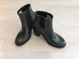 HUNTER ORIGINAL GLOSS CHELSEA BOOT
