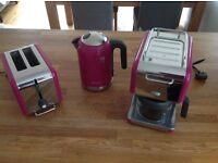 Kenwood KMix Kettle, Toaster and Coffe Machine