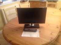 "Samsung 19"" LED Television - ideal for Bedroom or Kitchen"