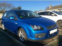 10 year old Ford Focus Zetec. Good condition. Low mileage.