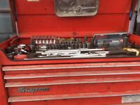 My tool box and tools for sale.