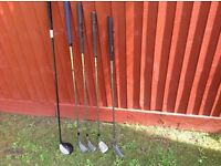 Selection of Left Handed Clubs