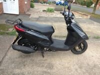 Yamaha vity 125 scooter, 2012, 7944 genuine miles, 6 months mot