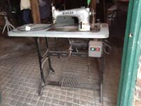 Old sewing machine, motor still works but needs repaired.