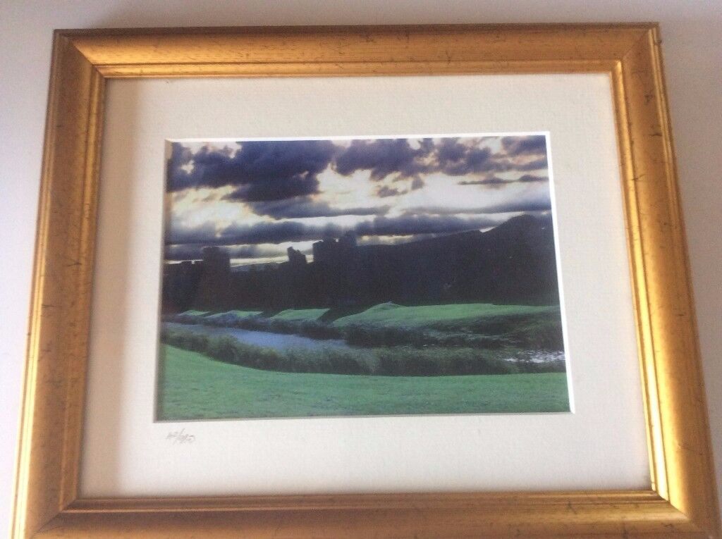 limited edition picture of Caerphilly Storms 42/980 by Chris Saltmarsh