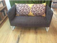 2 Seast IKEA Sofa with custom cushion