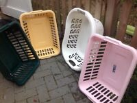 4 washing baskets