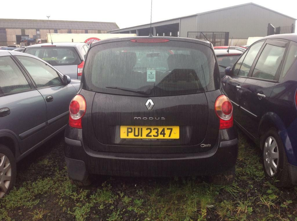 2006 RENAULT MODUS OASIS DCI 1.5 PETROL BREAKING FOR PARTS ONLY POSTAGE AVAILABLE NATIONWIDE