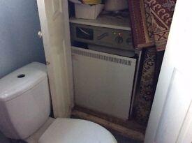 Large old boiler