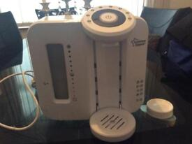 New Tomme Tippee on demand bottle make and bottle warmer