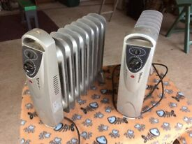 2 small radiators for sale