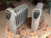 2 small radiators for sale