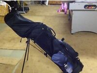 Full set Ben Sayers golf clubs with bag