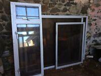 Double glazed units x 6 - various sizes