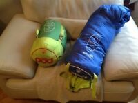 Two sleeping bags in good condition no longer needed