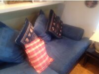 3/4 seater sofa+matching chair used in Brookfield