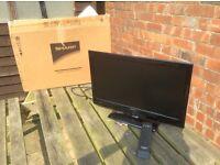 Sharp 22ins Wide Screen LCD TV