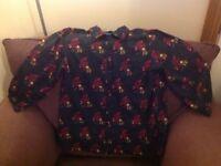 Yumi navy lion blouse size 10 never worn
