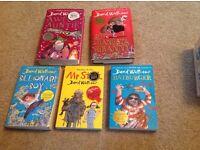 Books - Awful Auntie, Gangsta Granny, Billionaire Boy, Mr Stink and Ratburger