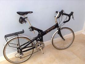 Airnimal Chameleon bike 56cm. Shimmano 105 27 speed. Black