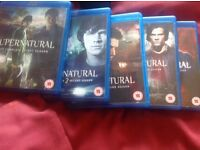 Supernatural blu-ray boxset.