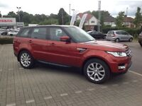Range Rover Sport deployable side steps Sliding panoramic roof.