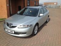 MAZDA 6TS (07) BLACK LEATHER TRIM, SERVICE HISTORY, HPICLEAR, FULL MOT.