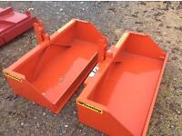 New Fleming 4ft transport box for compact tractor