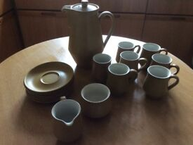 VINTAGE DENBY ODE COFFEE SET