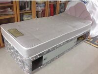 Single bed base