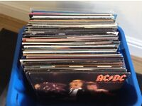 MIXED BOXES OF LP'S and SINGLES