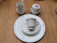 Royal Doulton fine bone China carnation dinnerware