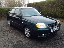 2003 HYUNDAI ACCENT CDX 1.6 ONLY 66,000 MILES