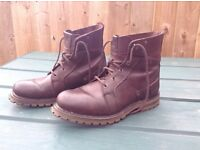 Leather boots Caterpliier