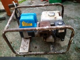 Petrol generator 110v