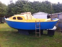 19ft yacht