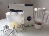 Vintage Kenwood Chef food mixer and accessories
