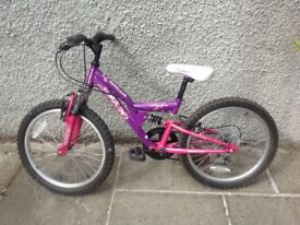 Girl's Cycle for approximately 6 years old