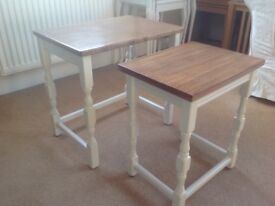 Reloved Solid Wood Nest of Tables