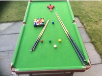 6x3 snooker/pool table