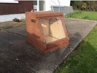Dog box / carrier for sale.