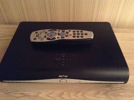 Sky+ HD box with remote control