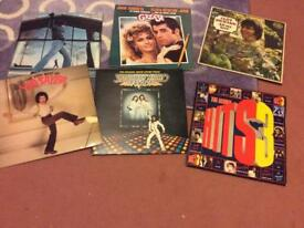 Vinyl LPs. Including two classic soundtracks from a Grease and Saturday Night Fever £5 each
