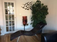 Faux Leather Modern Relaxing Chair/recliner