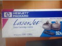 Laserjet C4092A black toner cartridge